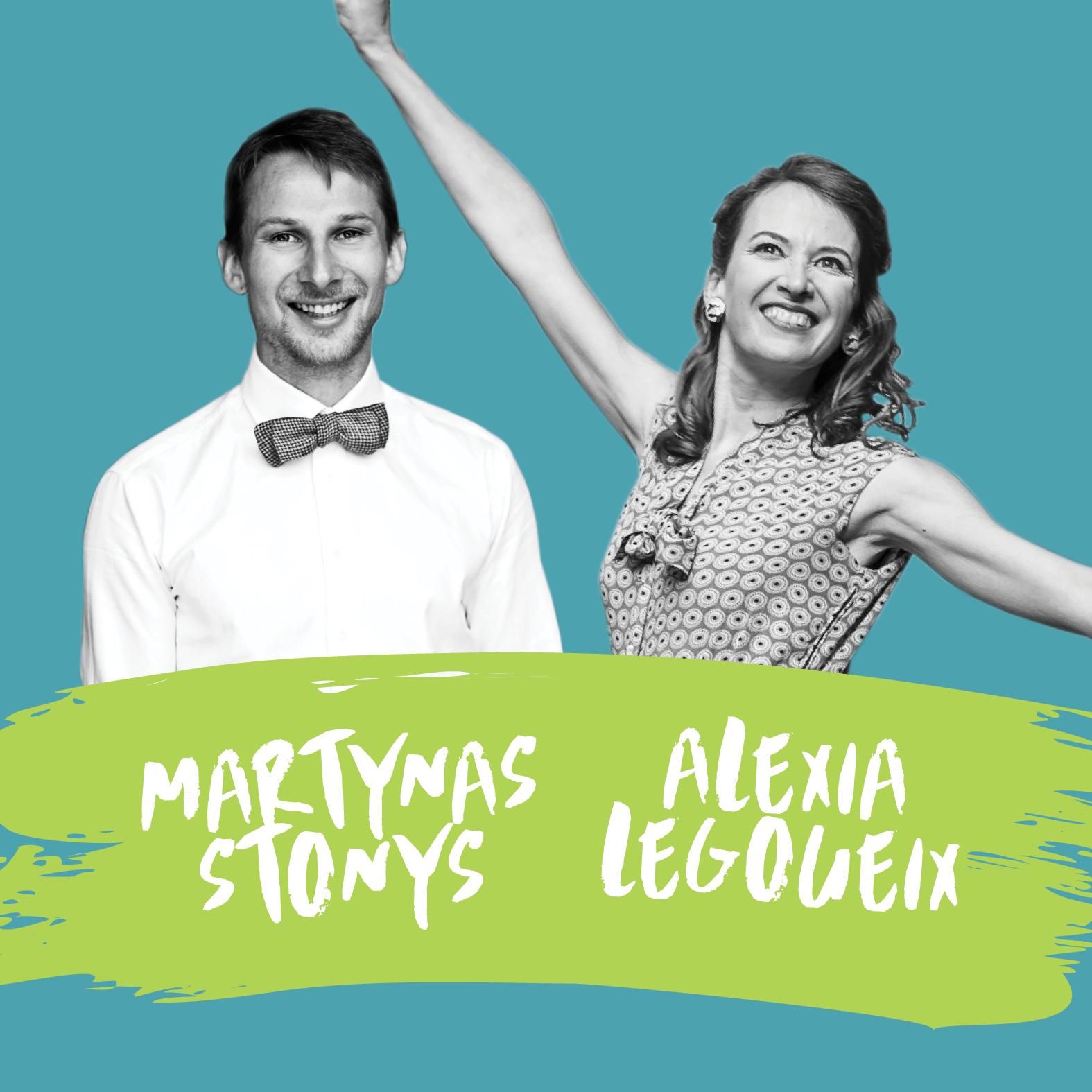 Martynas Stonys & Alexia Legoueix